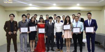 Lễ tốt nghiệp lớp MC sự kiện – Tiệc cưới chuyên nghiệp k10