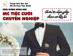 Khai giảng khóa MC Tiệc cưới chuyên nghiệp tháng 11/2019