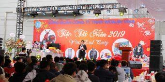 Tổng kết cuối năm công ty WonJin Vina 2019 – MC Văn Minh