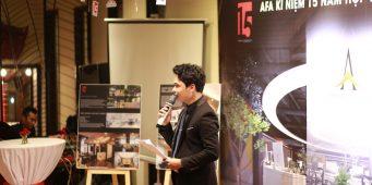 MC Văn Minh – Kỷ niệm 15 năm thành lập cty thiết kế A.FA