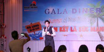 Gala Dinner cty Nhật Minh – MC Văn Minh