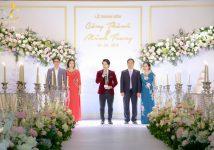 Lễ thành hôn trang trọng tại khách sạn Marriott – MC Văn Minh