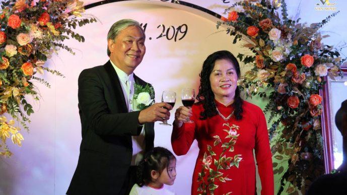Đám cưới Hồng Ngọc – Kỷ niệm 40 năm ngày cưới – MC Văn Minh