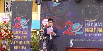 Kỷ niệm 20 năm ra trường niên khóa 1995 – 1999 THCS Hưng Khê – MC Văn Minh