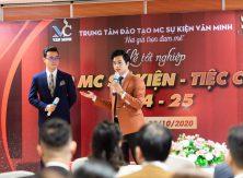 Khai giảng lớp MC Tiệc cưới chuyên nghiệp