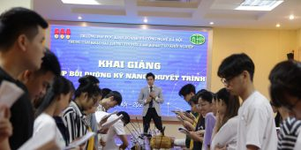 Đào tạo Kỹ năng thuyết trình – Đại học HUBT Hà Nội – Chuyên gia Nguyễn Văn Minh
