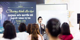 Đào tạo kỹ năng sân khấu – Hệ thống Mỹ phẩm Too Simpre – Chuyên gia Nguyễn Văn Minh